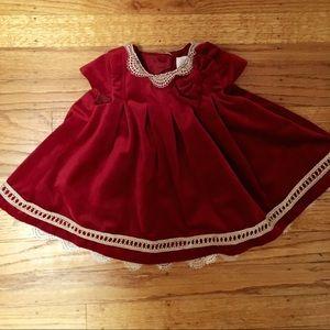 Other - Red velvet baby dress